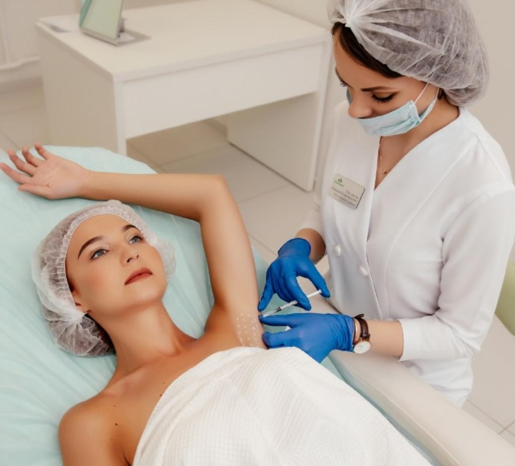 Процедура «Лечение гипергидроза»